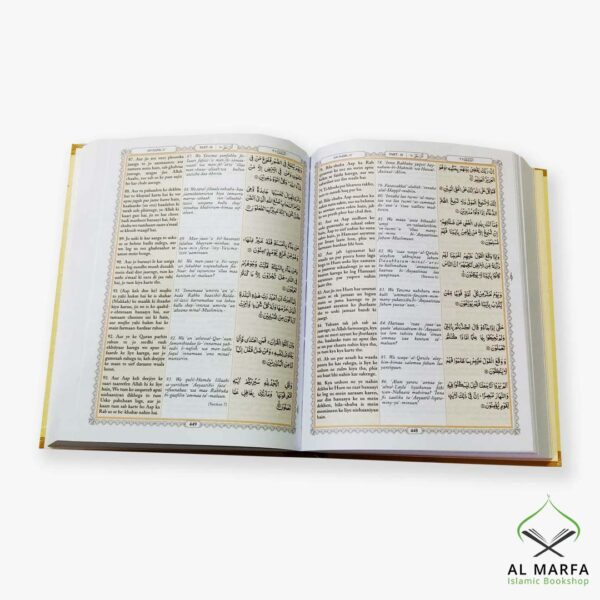 The Holy Quran Urdu Translation in Roman Script with Transliteration and Arabic Text